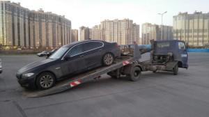 Автоэвакуация BMW