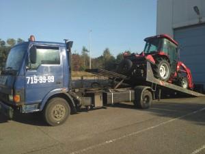 Эвакуация трактора 715-99-99.